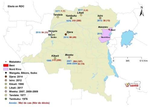 Source: Ministère de la Santé, RDC