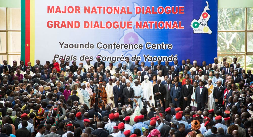 Grand Dialogue National, Yaoundé - Cameroun (c) Sputnik News