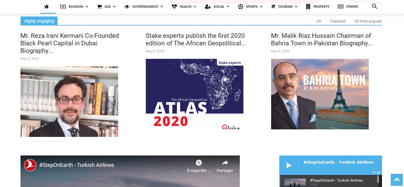 Stake experts ATLAS on Azad News (UAE)