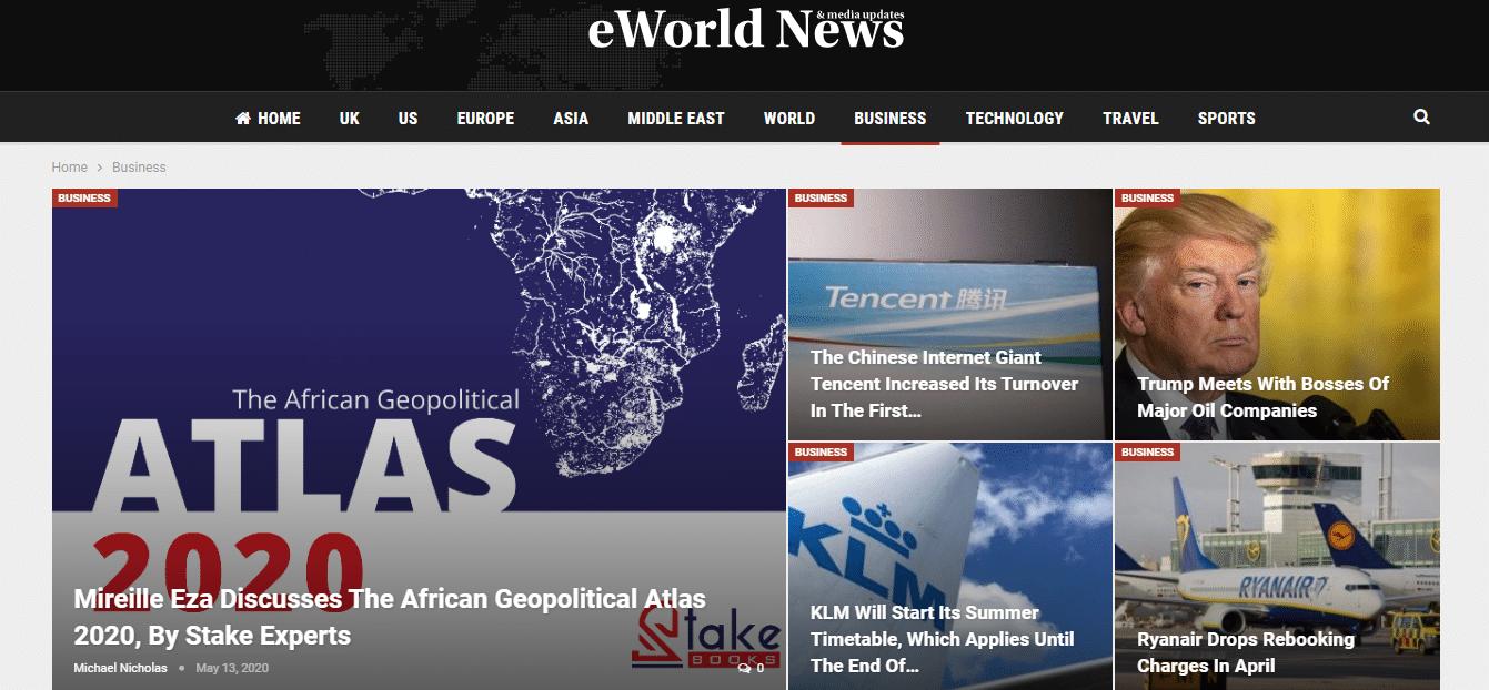 Mireille Eza, African Geopolitical ATLAS, Stake experts